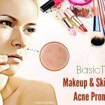 makeup and skincare acne prone skin