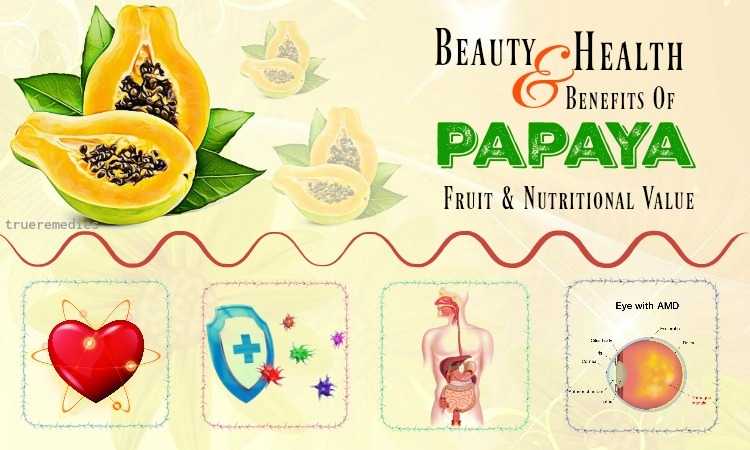 nutritional value and health benefits of papaya