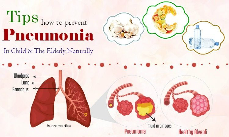 how to prevent pneumonia in the elderly