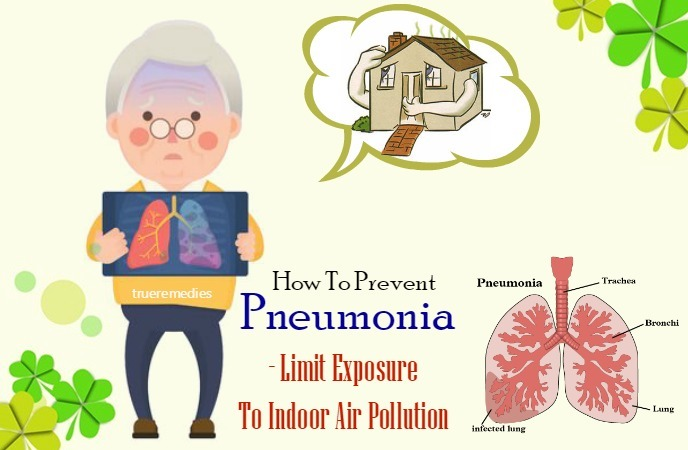 limit exposure to indoor air pollution