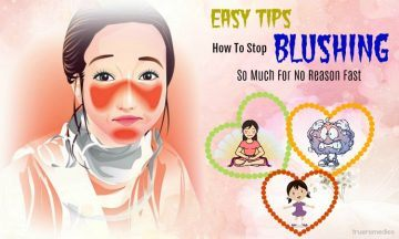 tips on how to stop blushing