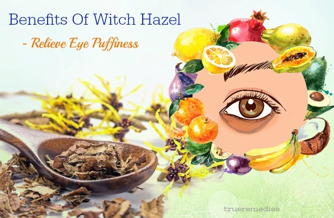 relieve eye puffiness