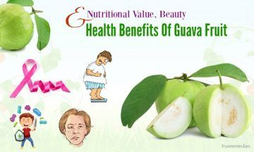 nutritional value and health benefits of guava