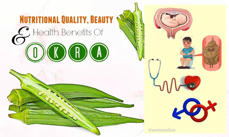 nutritional quality andhealth benefits of okra