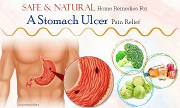 natural home remedies for a stomach ulcer pain
