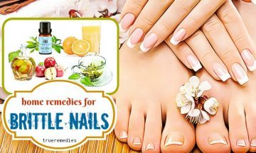 home remedies for brittle nails removal