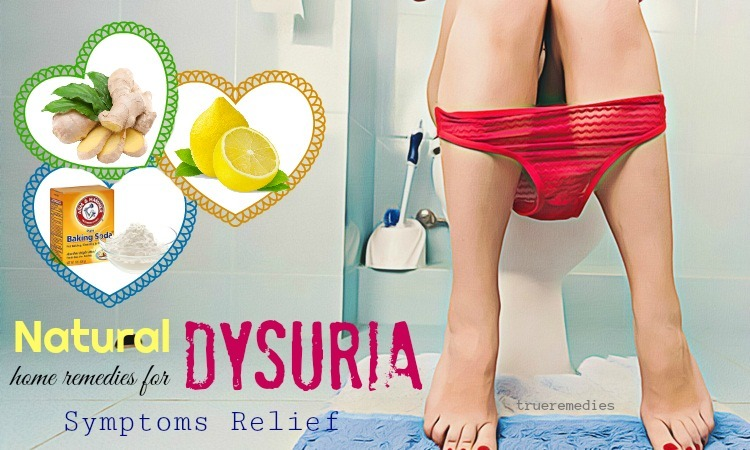 natural home remedies for dysuria