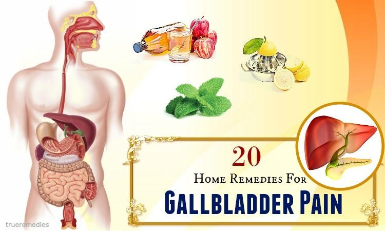 home remedies for gallbladder pain relief