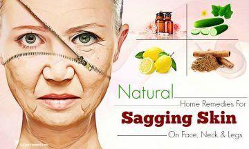 natural home remedies for sagging skin