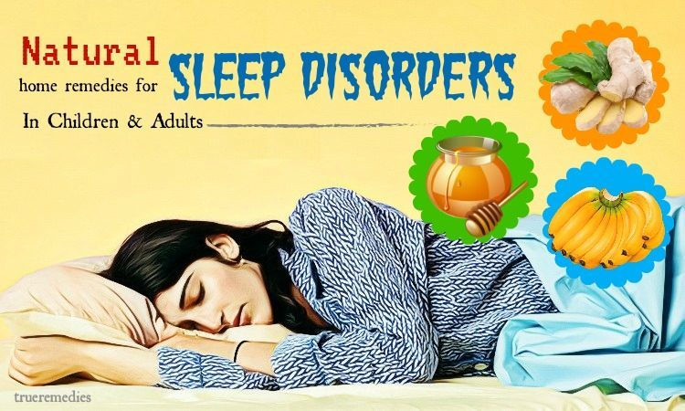 home remedies for sleep disorders in adults