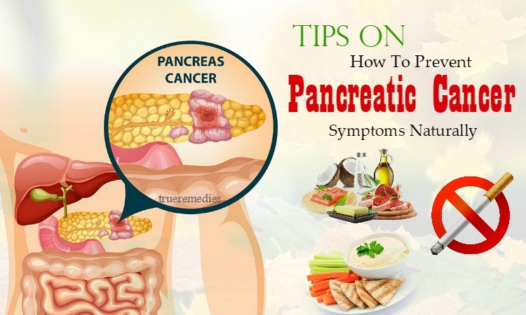 how to prevent pancreatic cancer symptoms