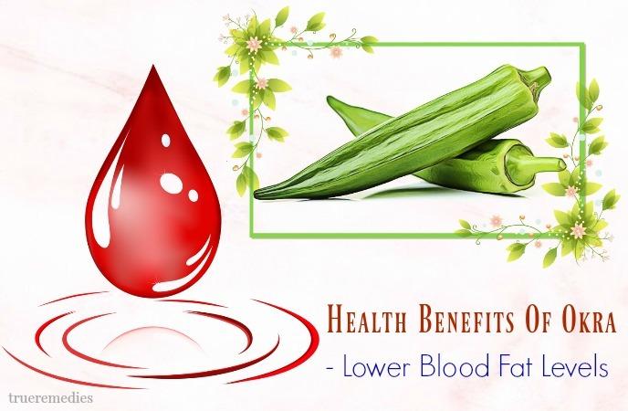 lower blood fat levels