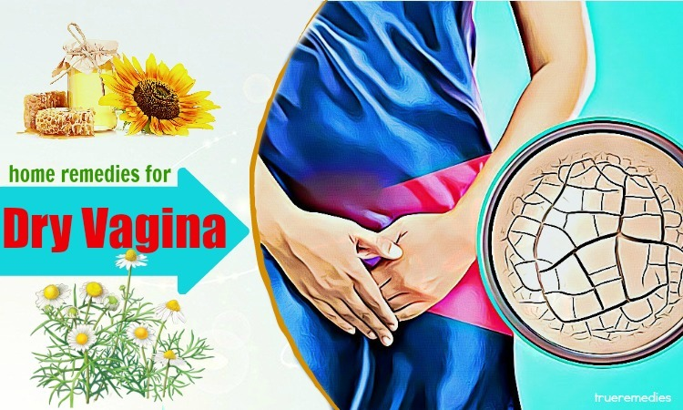 home remedies for dry vagina relief