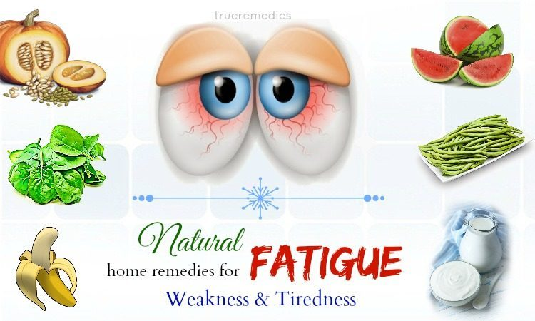 natural home remedies for fatigue
