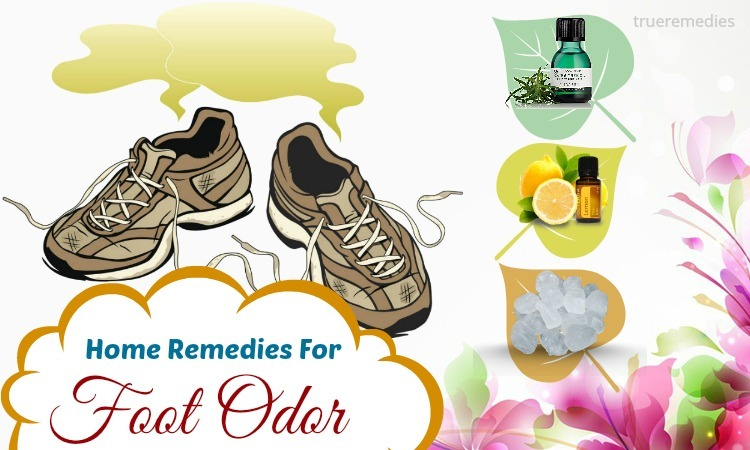 natural home remedies for foot odor