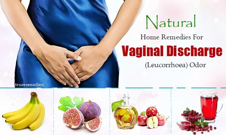 home remedies for vaginal discharge and odor