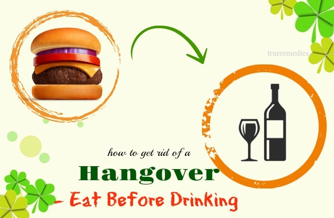 eat before drinking