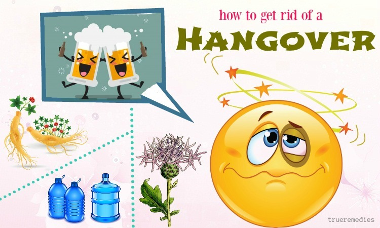 how to get rid of a hangover fast