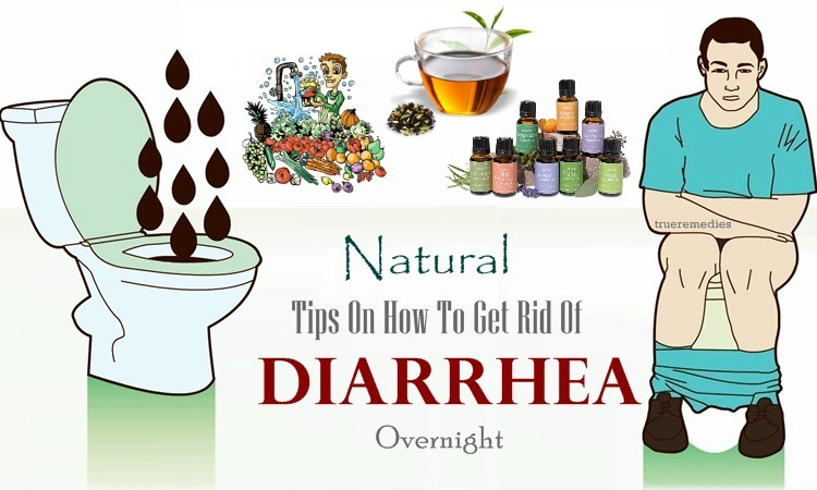 how to get rid of diarrhea naturally