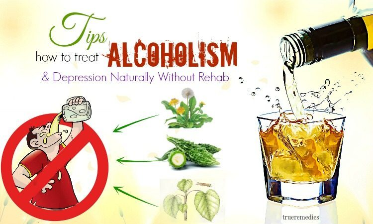 how to treat alcoholism without rehab