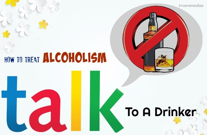 talk to a drinker