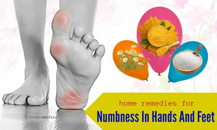 home remedies for numbness in hands and feet relief