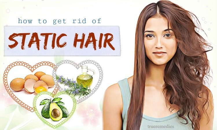 how to get rid of static hair fast