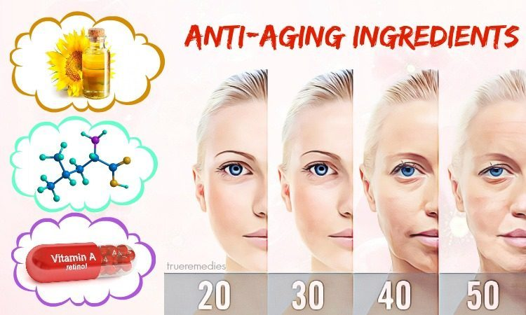 natural anti-aging ingredients