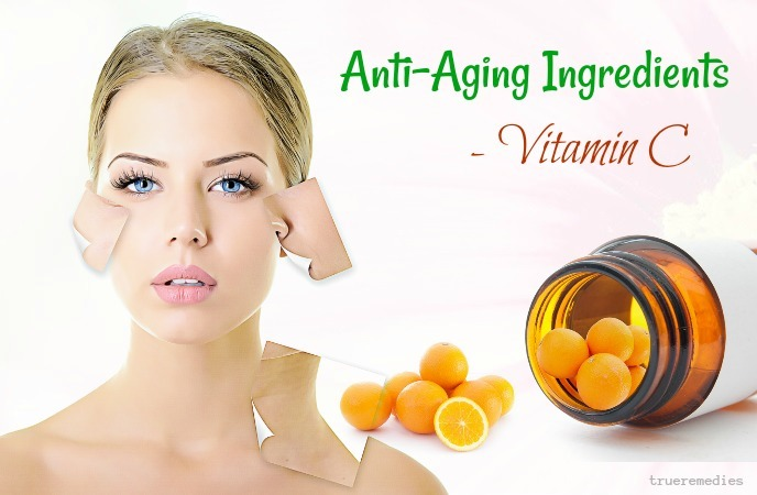 anti-aging ingredients for skin - vitamin c