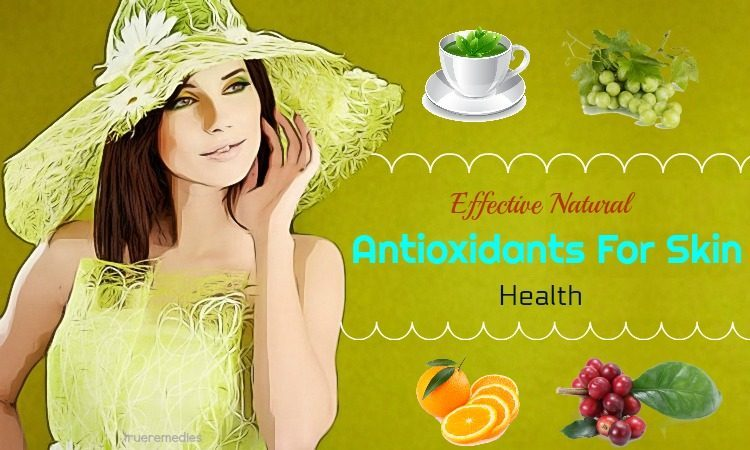 natural antioxidants for skin