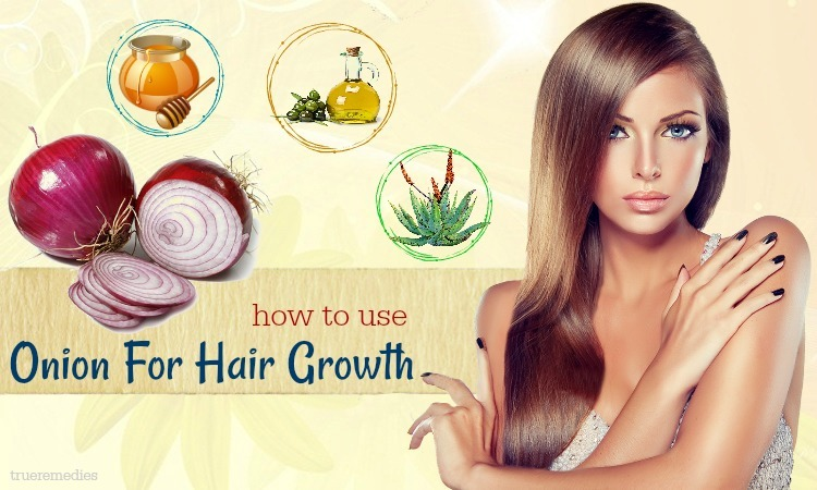 tips on how to use onion for hair growth