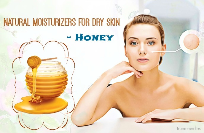 natural moisturizers for dry skin on body - honey