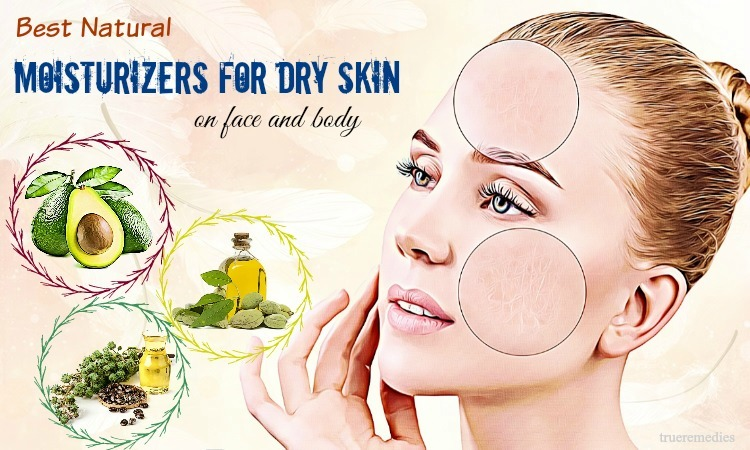 natural moisturizers for dry skin on face