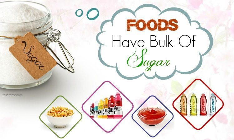 foods you wouldn't expect to have bulk of sugar