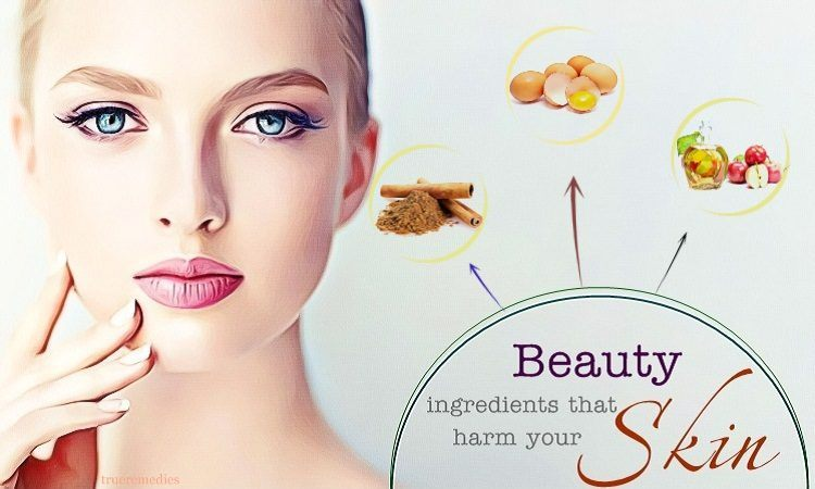 diy beauty ingredients that harm your skin