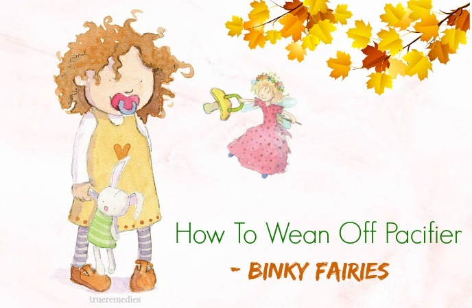 how to wean off pacifier - binky fairies