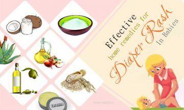 effective home remedies for diaper rash