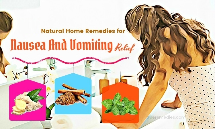 home remedies for nausea