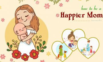 how to be a happier mom at home