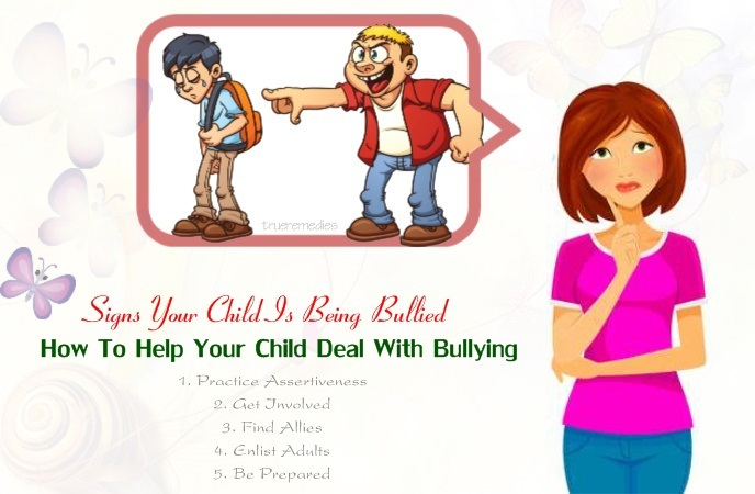 signs your child is being bullied - how to help your child deal with bullying