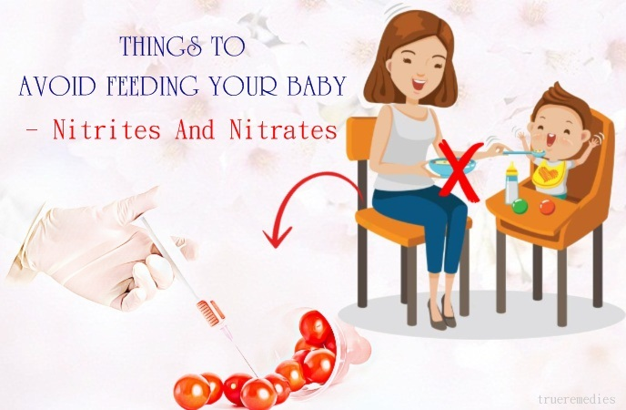 things to avoid feeding your baby - nitrites and nitrates