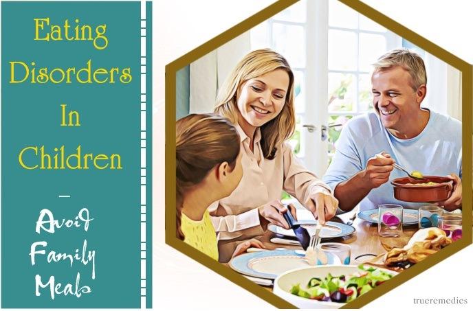 eating disorders in children - avoid family meals