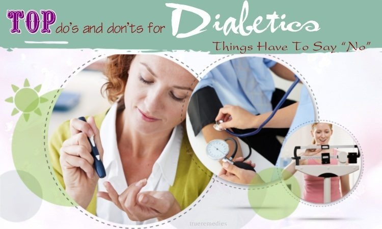 diet do's and don'ts for diabetics