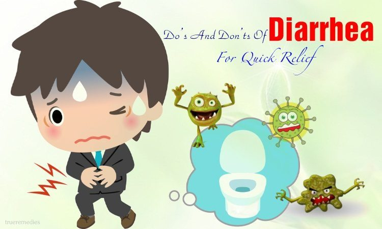 do's and don'ts of diarrhea for quick relief