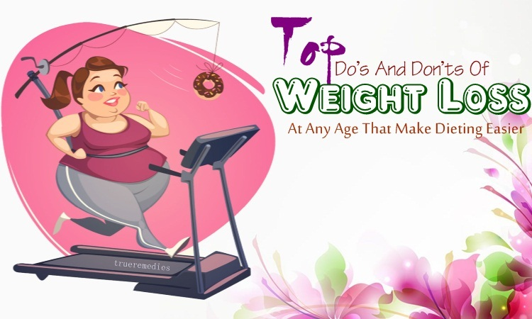 do's and don'ts of weight loss at any age