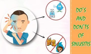 top do's and don'ts of sinusitis