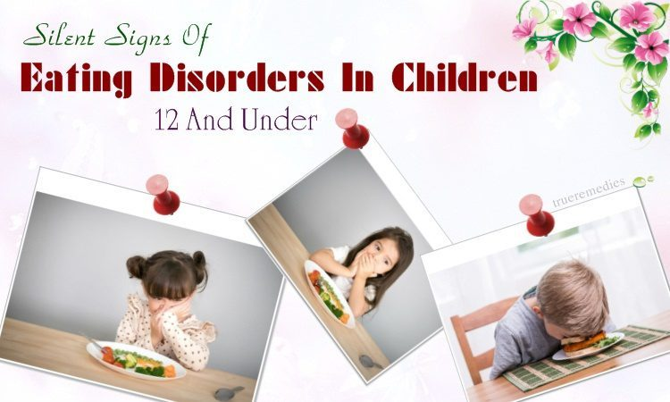 silent signs of eating disorders in children
