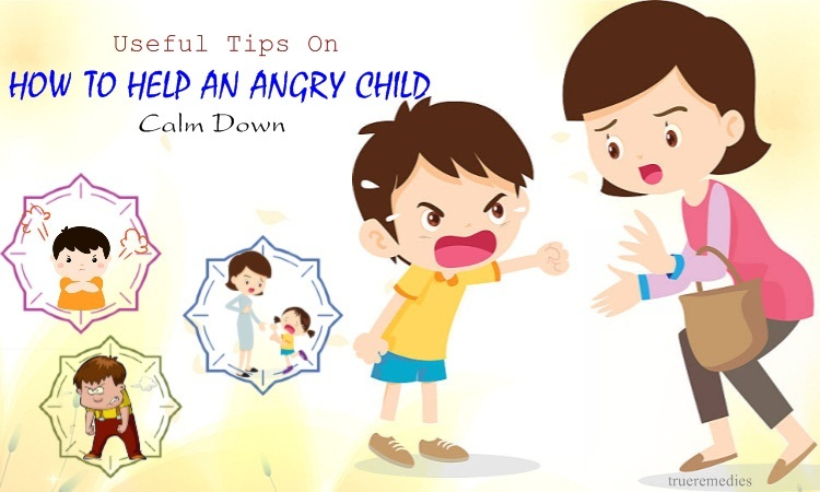 how to help an angry child calm down