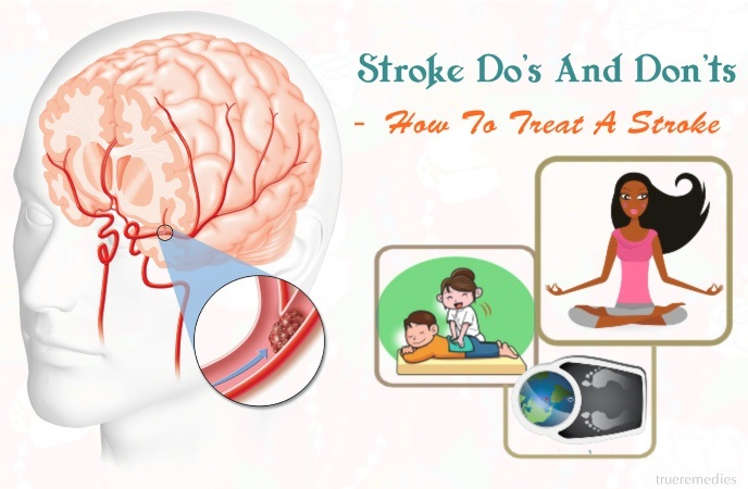 stroke do's and don'ts - how to treat a stroke