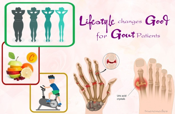 gout diet do's and don'ts - lifestyle changes good for gout patients